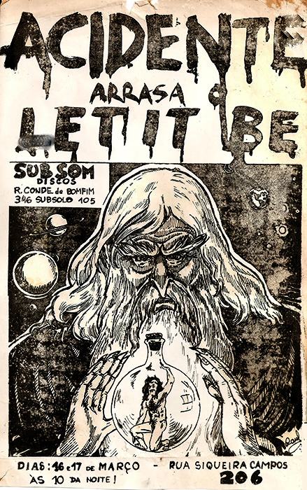 """Acidente arrasa o