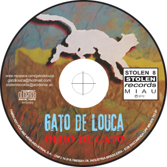 rótulo do CD Olho