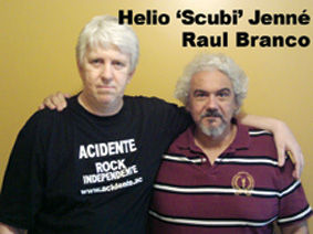Helio Jenne and Raul Branco